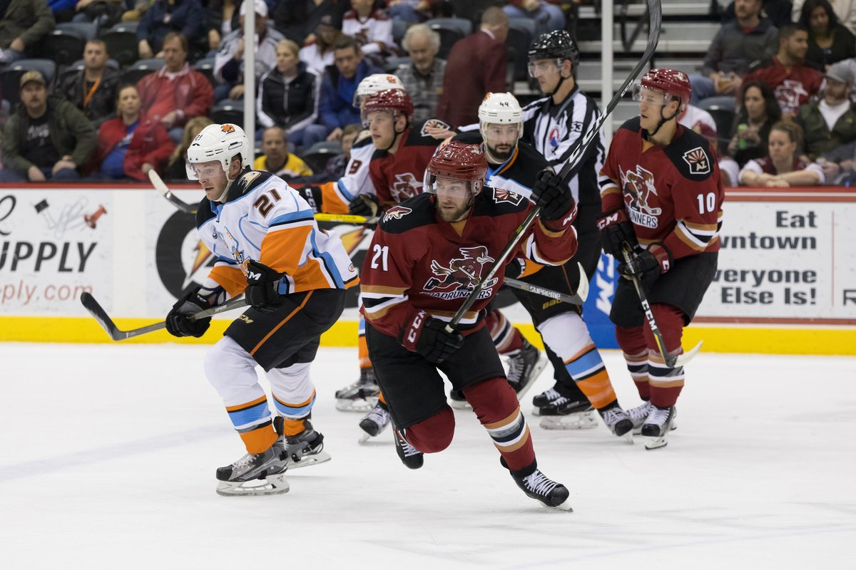 Tucson Roadrunners Fall To The San Diego Gulls In Last Game Before
