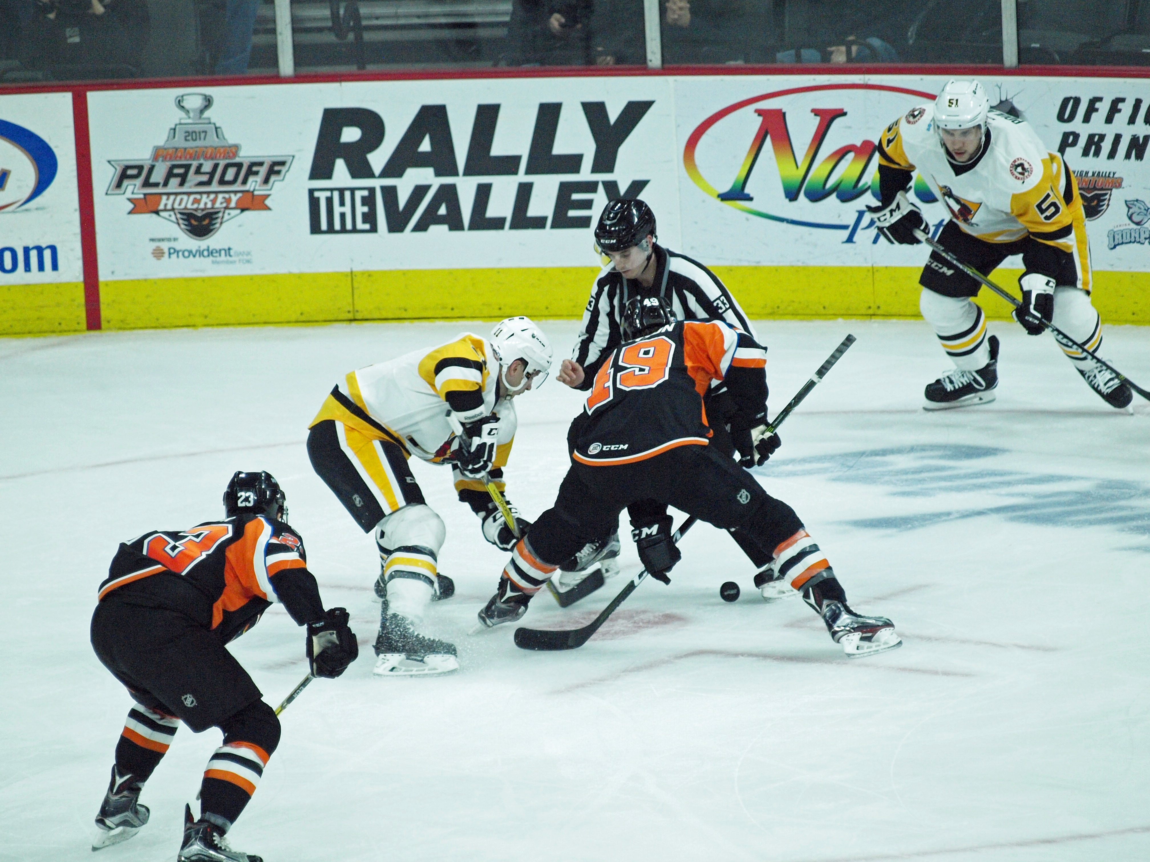 Penguins Blank Phantoms For Third Game In A Row Pro Hockey News