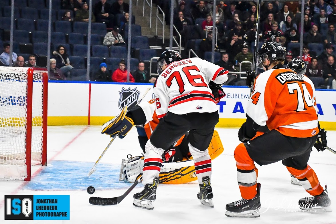 Quebec Begins Home Stretch On Winning Note Defeating Shawinigan